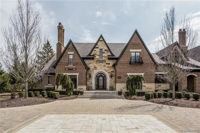 Bloomfield Hills Single Family Home For Sale: 1310 Orchard Ridge Rd