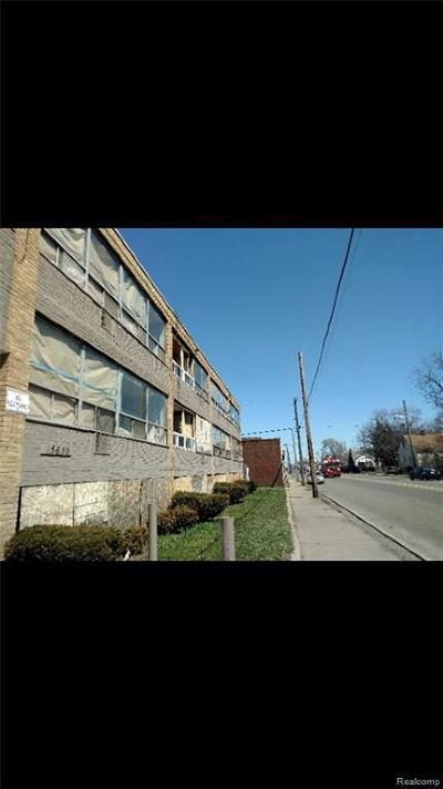 Detroit Multi Family Home For Sale: 15650 Fenkell St