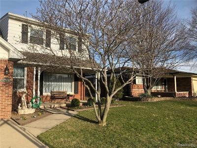 Sterling Heights Single Family Home For Sale: 36836 Manning Crt