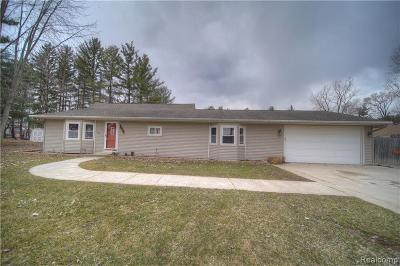 Montrose Single Family Home For Sale: 11387 McKinley Rd