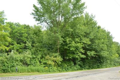 Algonac Residential Lots & Land For Sale: Starville Rd