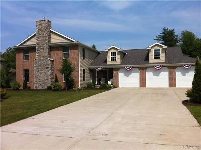 St. Clair Single Family Home For Sale: 4016 Pine Ridge Dr