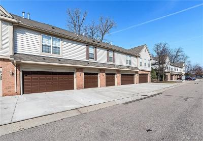 Canton Condo/Townhouse For Sale: 2178 Arcadia Dr