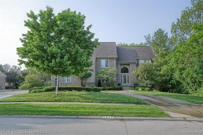 West Bloomfield Single Family Home For Sale: 4876 Justin Ln