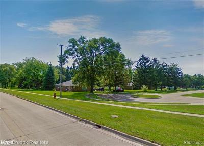 Sterling Heights Residential Lots & Land For Sale: 44924 Duffield Ave