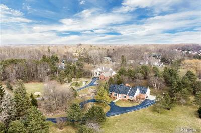 Rochester Single Family Home For Sale: 1498 Mill Race