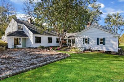 Lapeer Single Family Home For Sale: 3809 Wilder Rd