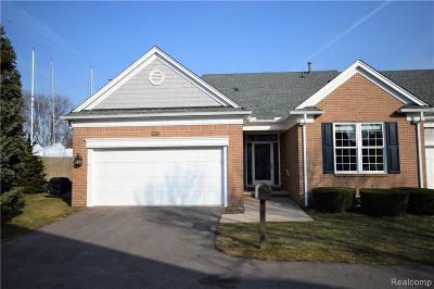Saint Clair Shores Condo/Townhouse For Sale: 6005 Harbor Place Dr