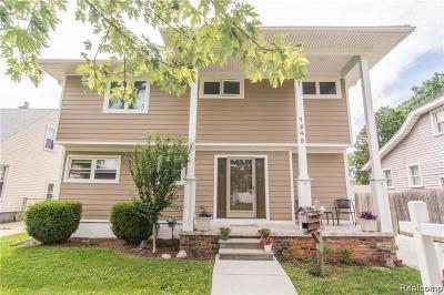 Berkley Single Family Home For Sale: 1845 Cummings Ave