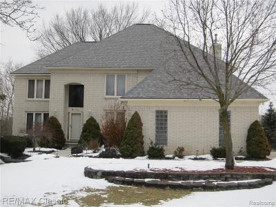 Farmington Hills Single Family Home For Sale: 37680 McKenzie Court Crt