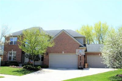 Troy Single Family Home For Sale: 2072 Sequoia Crt