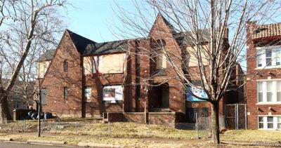 Detroit Multi Family Home For Sale: 13905 La Salle Blvd