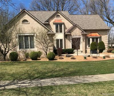Shelby Twp Single Family Home For Sale: 52893 Seven Oaks Dr