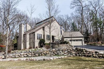 Rochester Single Family Home For Sale: 879 Hidden Oak Hill Ln