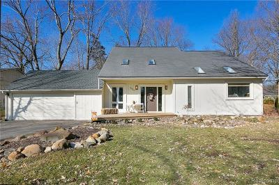 West Bloomfield Single Family Home For Sale: 3810 Fieldview Ave