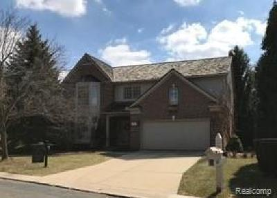 Bloomfield Hills Single Family Home For Sale: 1005 Glenwood Crt