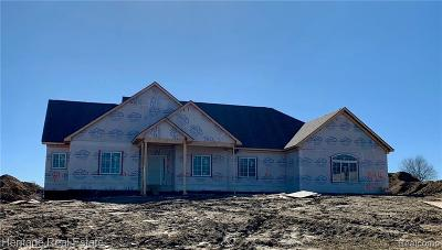 Lapeer Single Family Home For Sale: 844 Highland View Ln