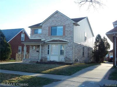 Dearborn Single Family Home For Sale: 7811 Calhoun St