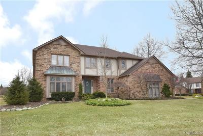 Troy Single Family Home For Sale: 4712 Pier Dr