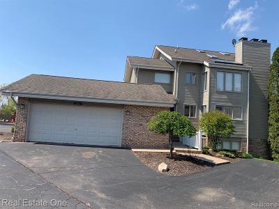 Northville Condo/Townhouse For Sale: 21054 Boulder Cir