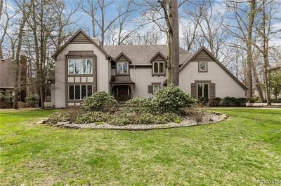 Lambertville Single Family Home For Sale: 4248 Little Streams Trl