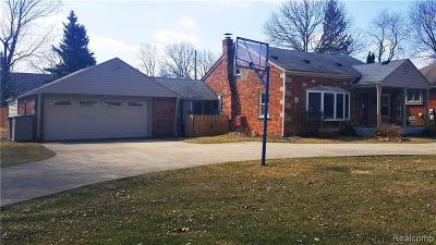 Sterling Heights Single Family Home For Sale: 5544 Meadow View St