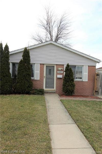 Roseville Single Family Home For Sale: 30841 Normal St