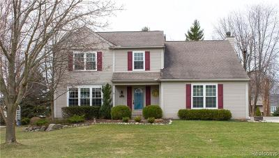 Rochester Hills Single Family Home For Sale: 1723 Ridgecrest