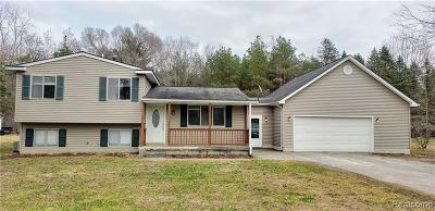 Montrose Single Family Home For Sale: 10444 Nichols Rd