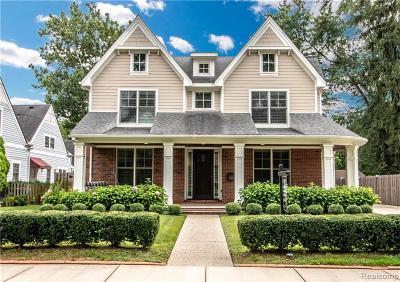 Birmingham Single Family Home For Sale: 855 Harmon St