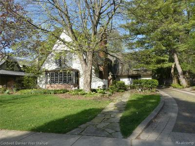 Birmingham Single Family Home For Sale: 508 Linden Rd