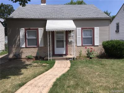 Eastpointe Single Family Home For Sale: 22038 Rausch Ave