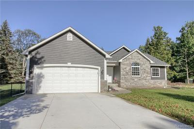 Single Family Home For Sale: 8295 Morrow Rd
