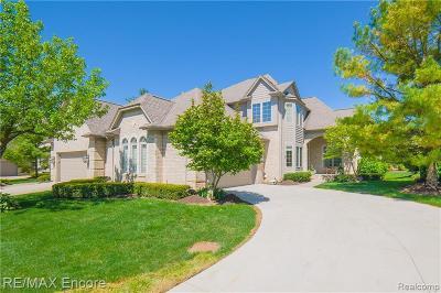 Clarkston Condo/Townhouse For Sale: 6590 Enclave Dr