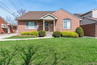 Dearborn Single Family Home For Sale: 23028 Park St