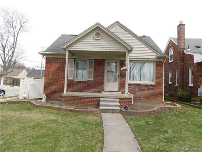 Dearborn Single Family Home For Sale: 3501 Lincoln St