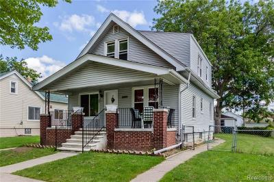 Dearborn Single Family Home For Sale: 7328 Williamson St