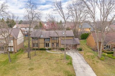 Farmington Hills Single Family Home For Sale: 29892 White Hall Dr
