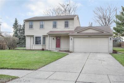 Troy Single Family Home For Sale: 3643 Delaware Dr