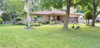 Sterling Heights Single Family Home For Sale: 42206 Hanks Ln