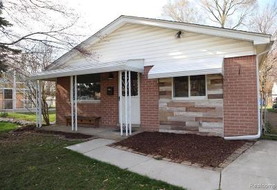 Dearborn Heights Single Family Home For Sale: 25416 Dartmouth St