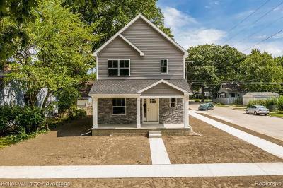 Berkley Single Family Home For Sale: 4014 Ellwood Ave