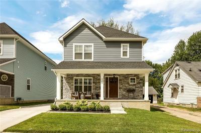 Berkley Single Family Home For Sale: 3991 Ellwood Ave