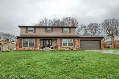 Farmington Hills Single Family Home For Sale: 25385 Lyncastle St