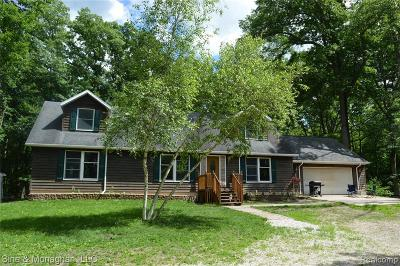 Algonac  Single Family Home For Sale: 8981 Folkert Rd