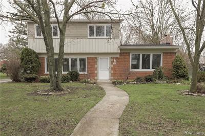 Bloomfield Hills Single Family Home For Sale: 523 S Cranbrook Cross Rd