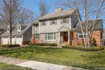 Grosse Pointe Farms Single Family Home For Sale: 304 Lothrop Rd