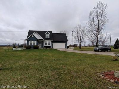 Lapeer Single Family Home For Sale: 7845 Jefferson Rd