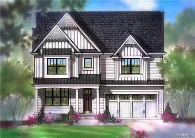 Berkley Single Family Home For Sale: 3506 Prairie Ave