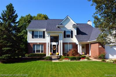 West Bloomfield Single Family Home For Sale: 2916 Greenbrooke Ln